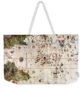 Nina: World Map, 1500 Weekender Tote Bag