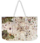 Nina: World Map, 1500 Weekender Tote Bag