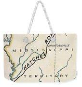 Natchez Trace, 1816 Weekender Tote Bag