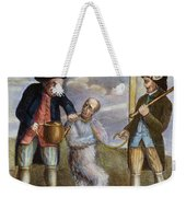 Tarring & Feathering, 1774 Weekender Tote Bag