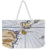 Traces Of Atlantis Weekender Tote Bag