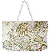 Map Of Europe, 1623 Weekender Tote Bag