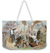 Business Cartoon, 1904 Weekender Tote Bag