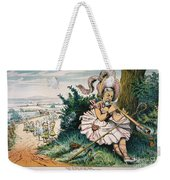 James Blaine Cartoon, 1884 Weekender Tote Bag