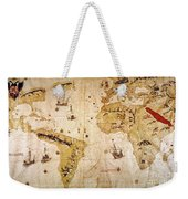 Vespucci's World Map, 1526 Weekender Tote Bag