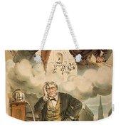 Cartoon: Panic Of 1893 Weekender Tote Bag