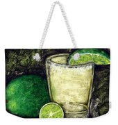 Tequila With Salt And Lime Weekender Tote Bag