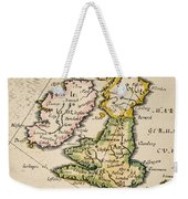 Map Of Great Britain, 1623 Weekender Tote Bag