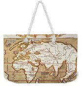 Waldseemuller: World Map Weekender Tote Bag