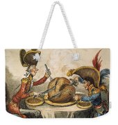 Napoleon Cartoon, 1805 Weekender Tote Bag