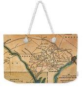 Underground Railroad Map Weekender Tote Bag