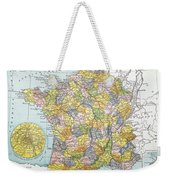 Map Of France, C1900 Weekender Tote Bag