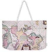 Map: European Coasts, 1715 Weekender Tote Bag