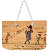 Cartoon: Whiskey Tax, 1794 Weekender Tote Bag