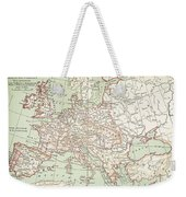 Map Of Europe, C1812 Weekender Tote Bag