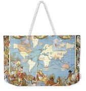 Map: British Empire, 1886 Weekender Tote Bag