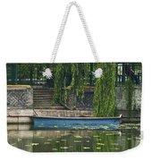 0044-2- Row Boat Weekender Tote Bag