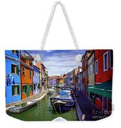 0045 Burano Colors 2 Weekender Tote Bag