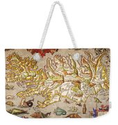 Iceland: Map, 1595 Weekender Tote Bag