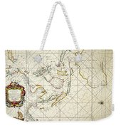 Map: East Indies, 1670 Weekender Tote Bag