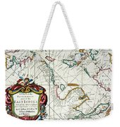 East Indies Map, 1670 Weekender Tote Bag