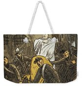 Benito Mussolini Cartoon Weekender Tote Bag