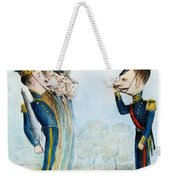 Cartoon: Mexican War, 1846 Weekender Tote Bag