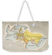 World Map, C1300 Weekender Tote Bag