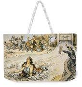 Free Silver Cartoon, 1890 Weekender Tote Bag