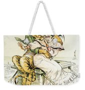 Political Cartoon Weekender Tote Bag