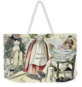 New South Cartoon, 1895 Weekender Tote Bag