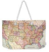 Map: United States, 1905 Weekender Tote Bag