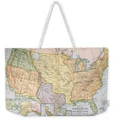 Map: U.s. Expansion, 1905 Weekender Tote Bag