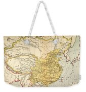 Map: China, 1910 Weekender Tote Bag