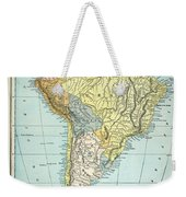 South America: Map, C1890 Weekender Tote Bag