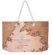 Cook: Newfoundland, 1763 Weekender Tote Bag