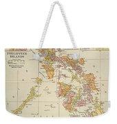 Map: Philippines, 1905 Weekender Tote Bag