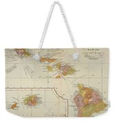 Map: Hawaii, 1905 Weekender Tote Bag