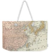 Map: East Asia, 1907 Weekender Tote Bag