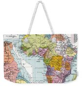 Partitioned Africa, 1914 Weekender Tote Bag
