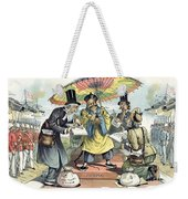 Missionary Cartoon, 1895 Weekender Tote Bag