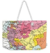 Map: Expansion Of Russia Weekender Tote Bag