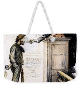 Red Scare Cartoon, 1919 Weekender Tote Bag
