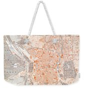 Spain: Madrid Map, C1920 Weekender Tote Bag
