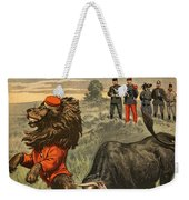 Boer War Cartoon, 1899 Weekender Tote Bag