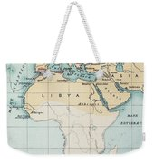 Map: Phoenician Empire Weekender Tote Bag