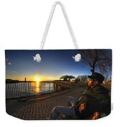 01 Me Sunset 16mar16 Weekender Tote Bag