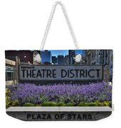01 Plaza Of Stars Buffalo Theatre District Weekender Tote Bag