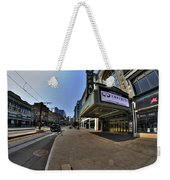 01 Walking Past Sheas Buffalo Ny Weekender Tote Bag