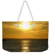 010 Sunset 16mar16 Weekender Tote Bag